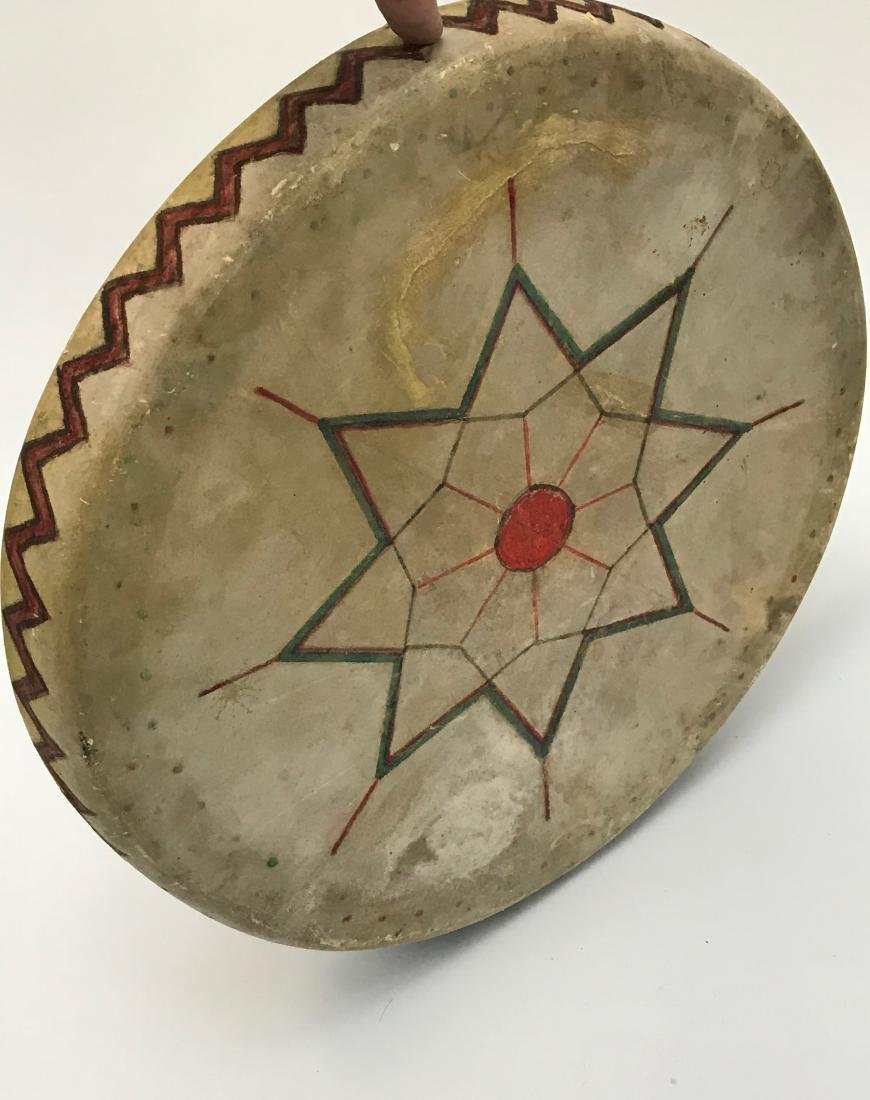 Native American, PowWow, Hope Symbol Drum, Pueblo - 2