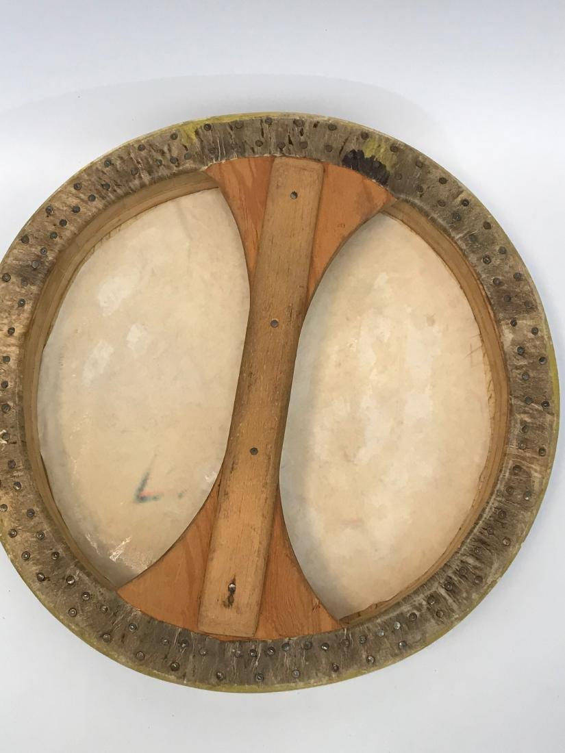 Native American, PowWow, Hope Symbol Drum, Pueblo - 3