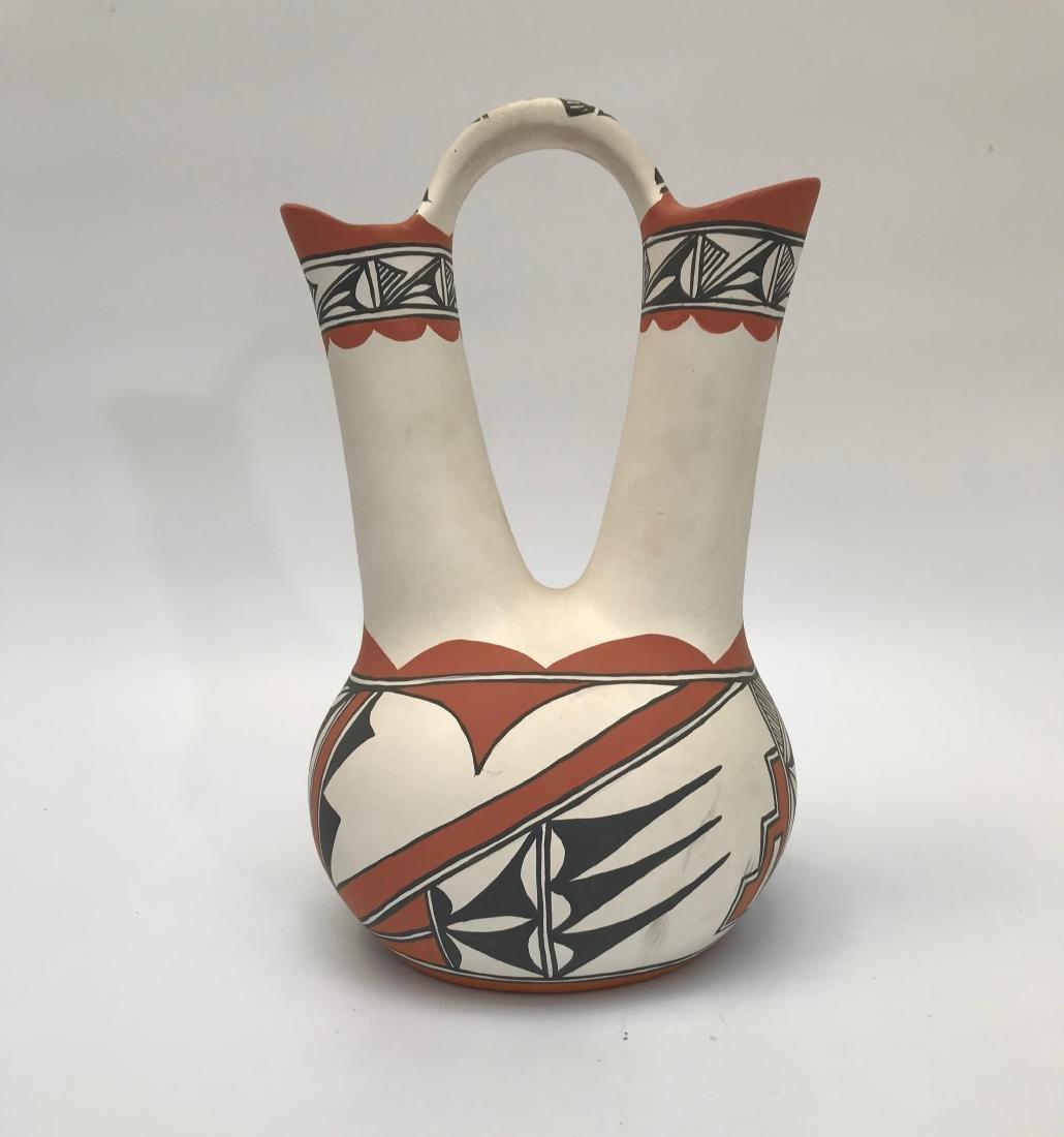 Native American, Pueblo Wedding Vase from New Mexico,