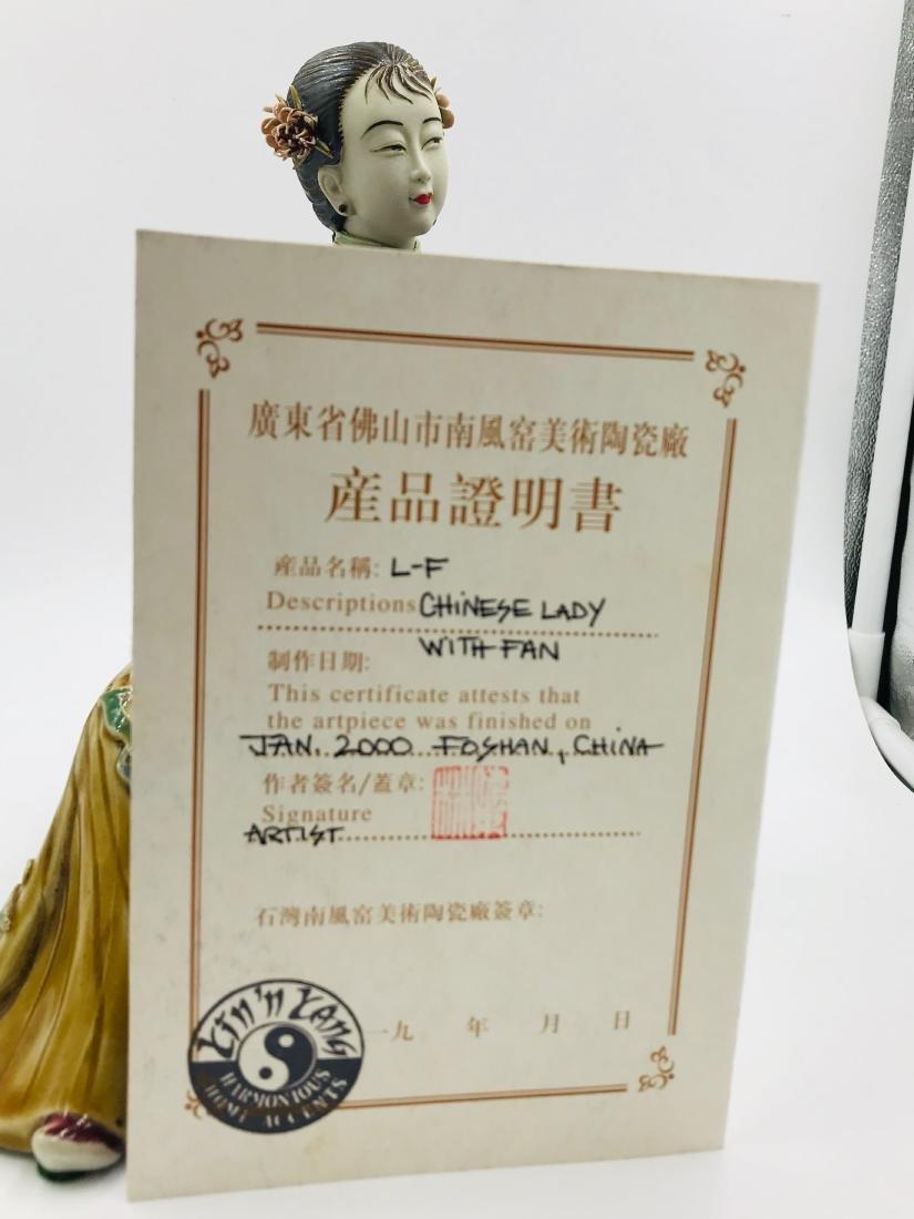 Chinese Sitting Lady, Foshan, China Papered - 5