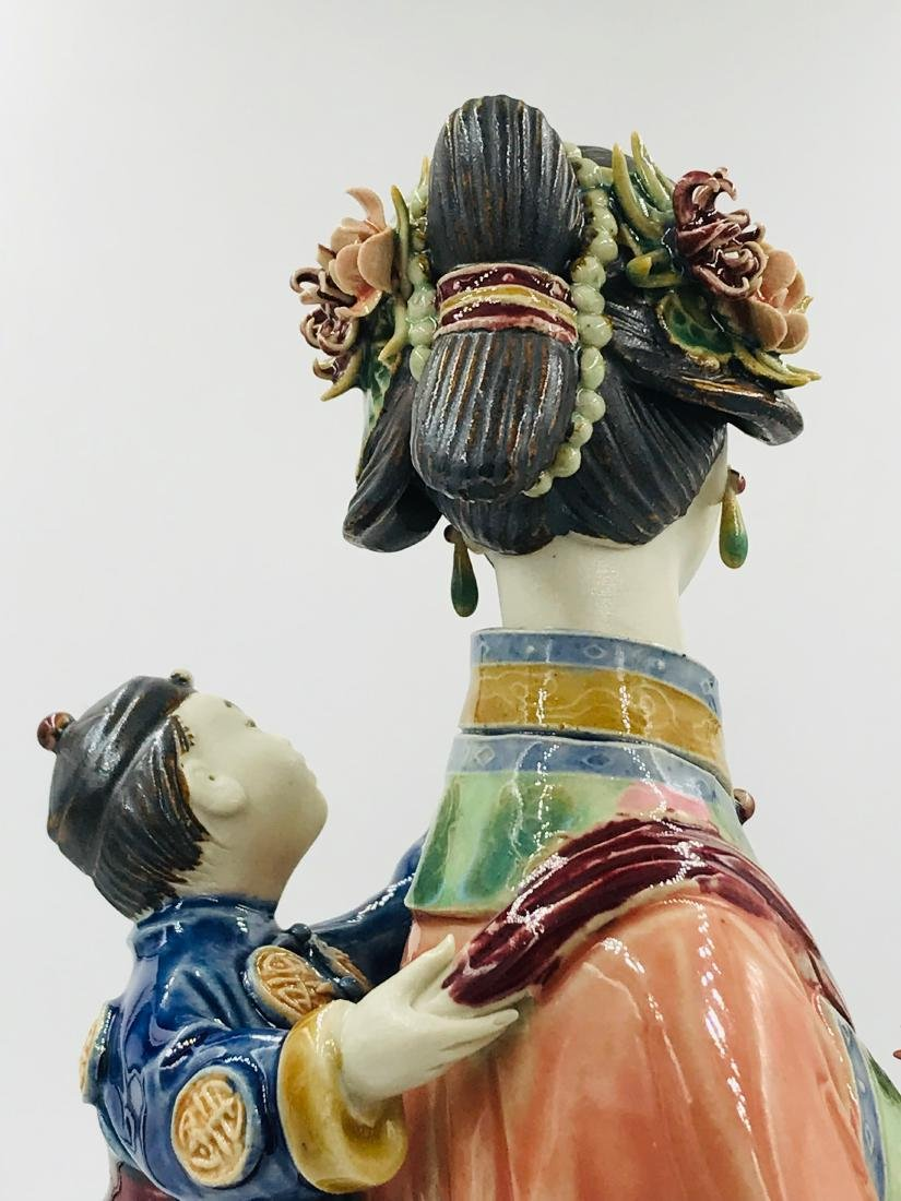 Chinese Adorning Mother and Child, Foshan, China - 3