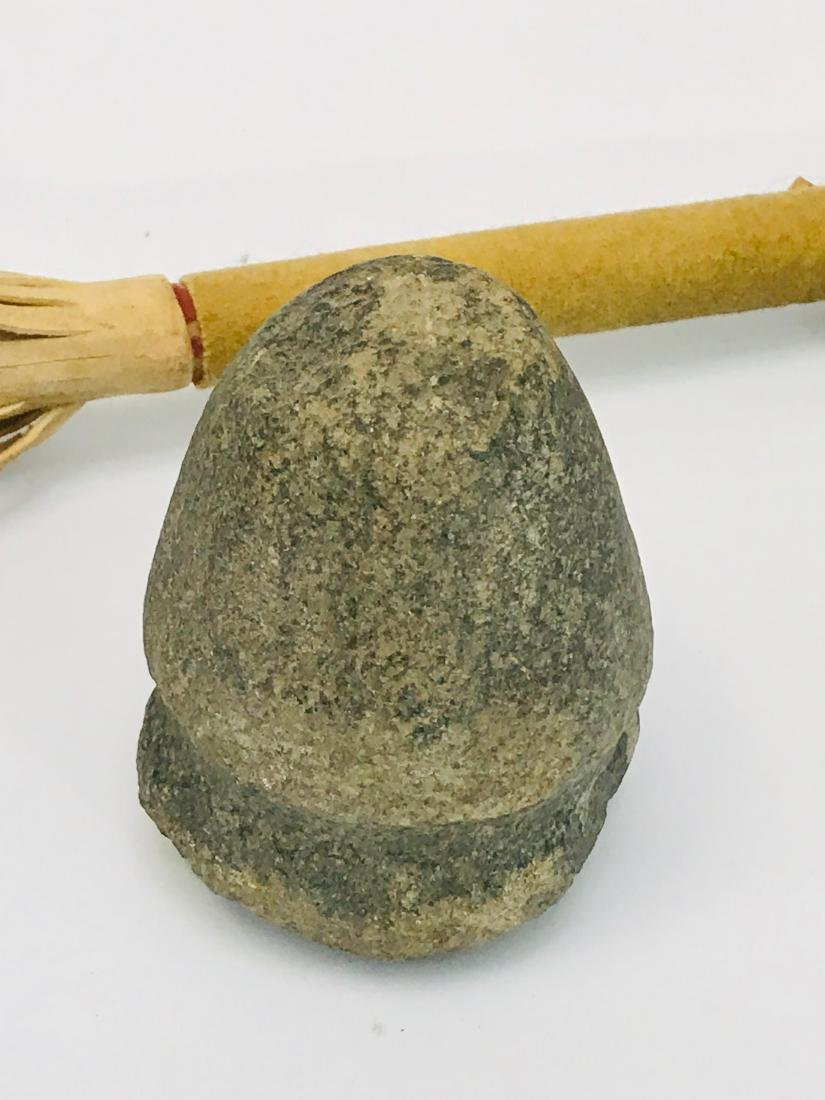 Apache, Native American Indian, Stone Tool and Spear - 4