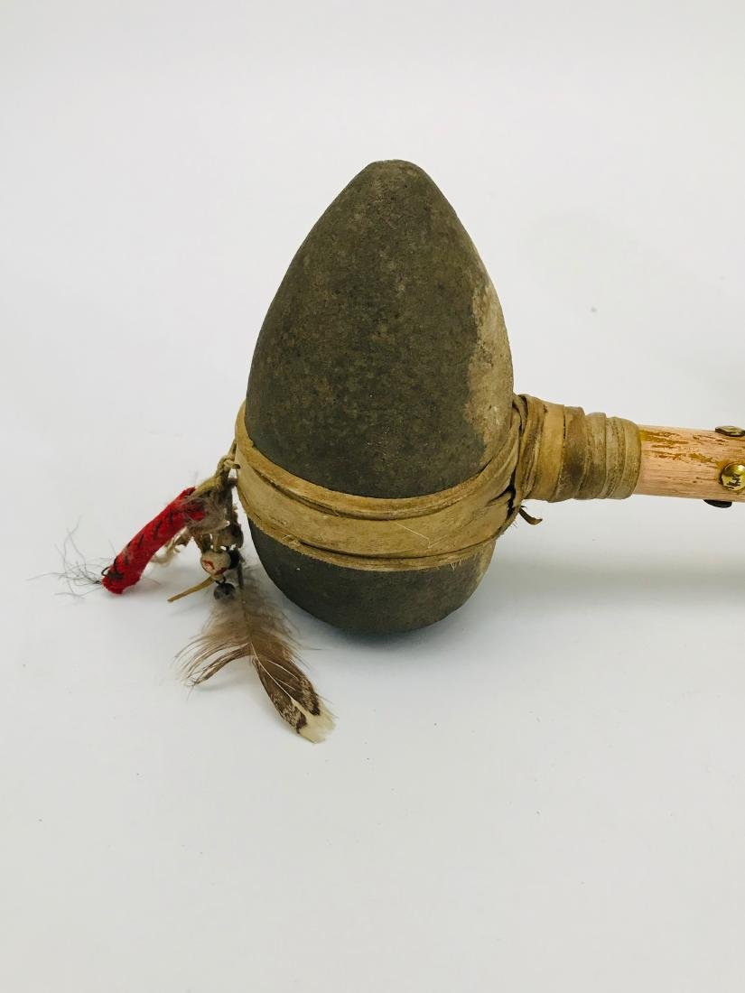 Apache, Native American Indian, Stone Tool and Spear - 6