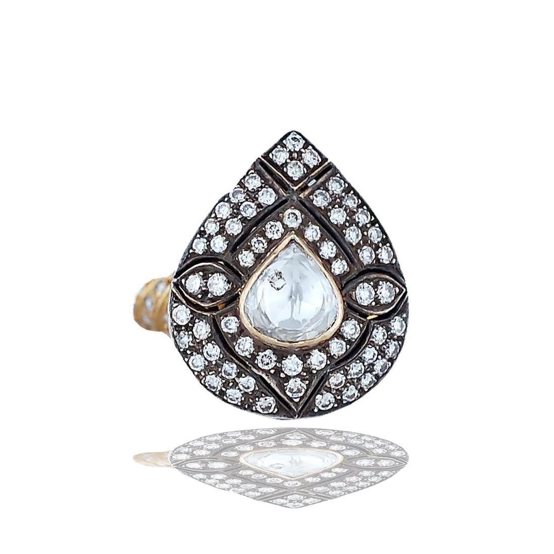 Gregorian, Solitaire Diamond, 1.65 tw, 14 Karat Two