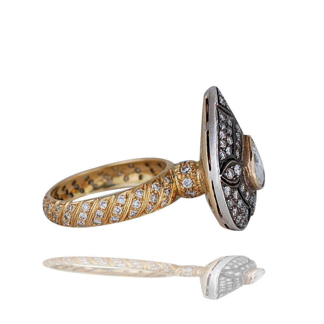Gregorian, Solitaire Diamond, 1.65 tw, 14 Karat Two - 2