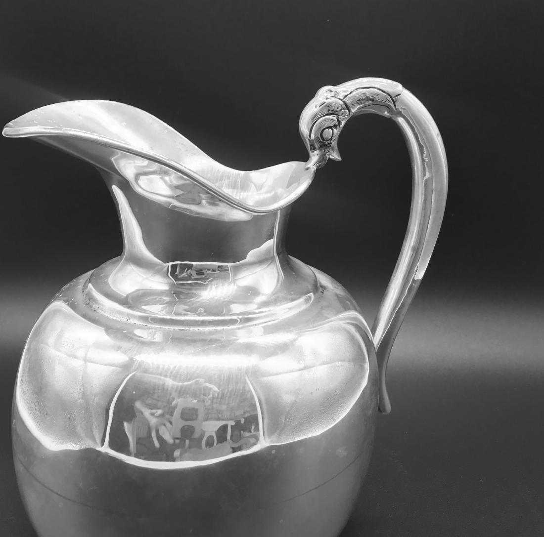 Sterling Silver, Fish Handle, Water Jug JaGar's 925 - 4