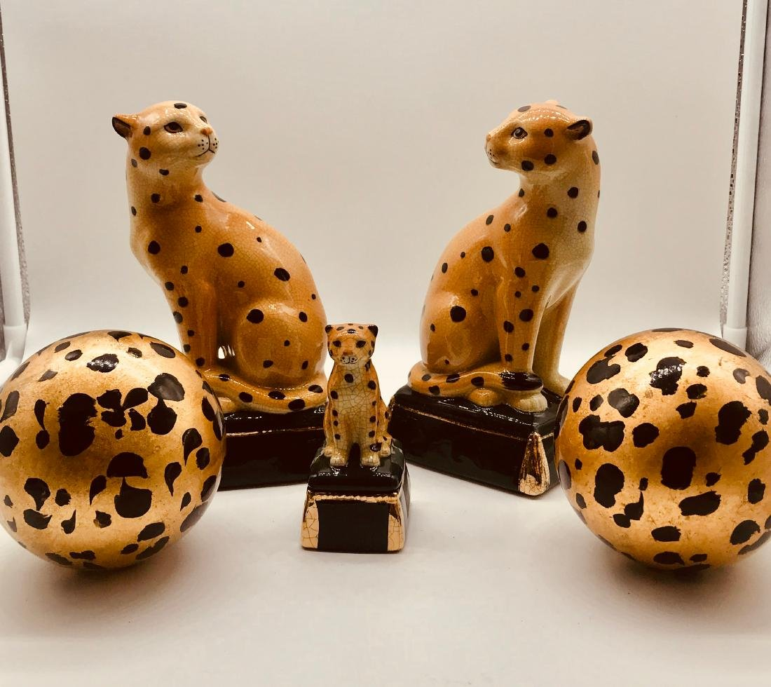 Cheeta Set Décor of Five