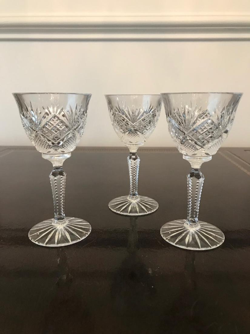 Waterford, Crystal Stemmed Glass (17) Pc, 4.5 x 2-.5