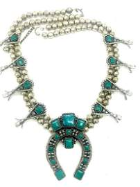 SanCrest Native America, Squash Blossom Necklace