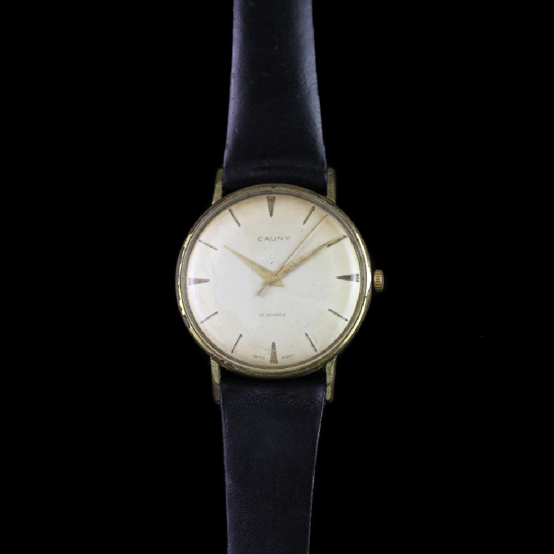 *TO BE SOLD WITHOUT RESERVE* GENTLEMEN'S CAUNY GOLD