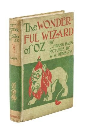 Wonderful Wizard of Oz First Edition Second State