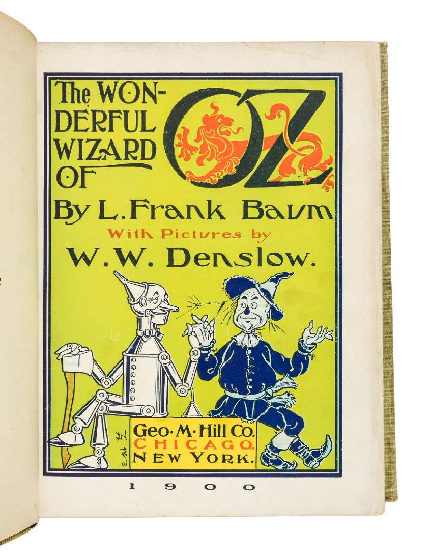 Wonderful Wizard of Oz First Edition Second State - 2