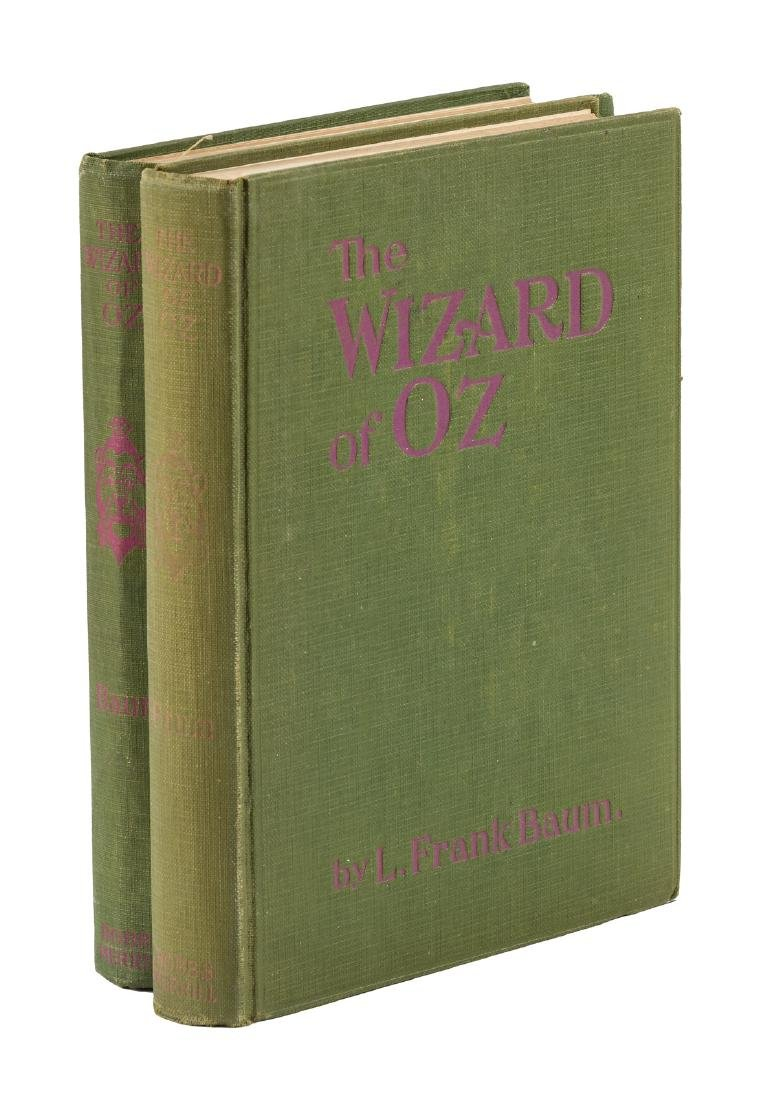 First photoplay edition of Wizard of Oz, both variants