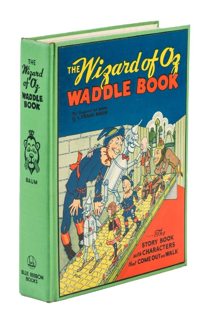Wizard of Oz Waddle Book with DJ and 5 waddles