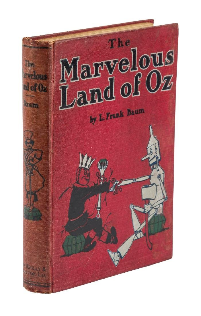 Marvelous Land of Oz First Edition