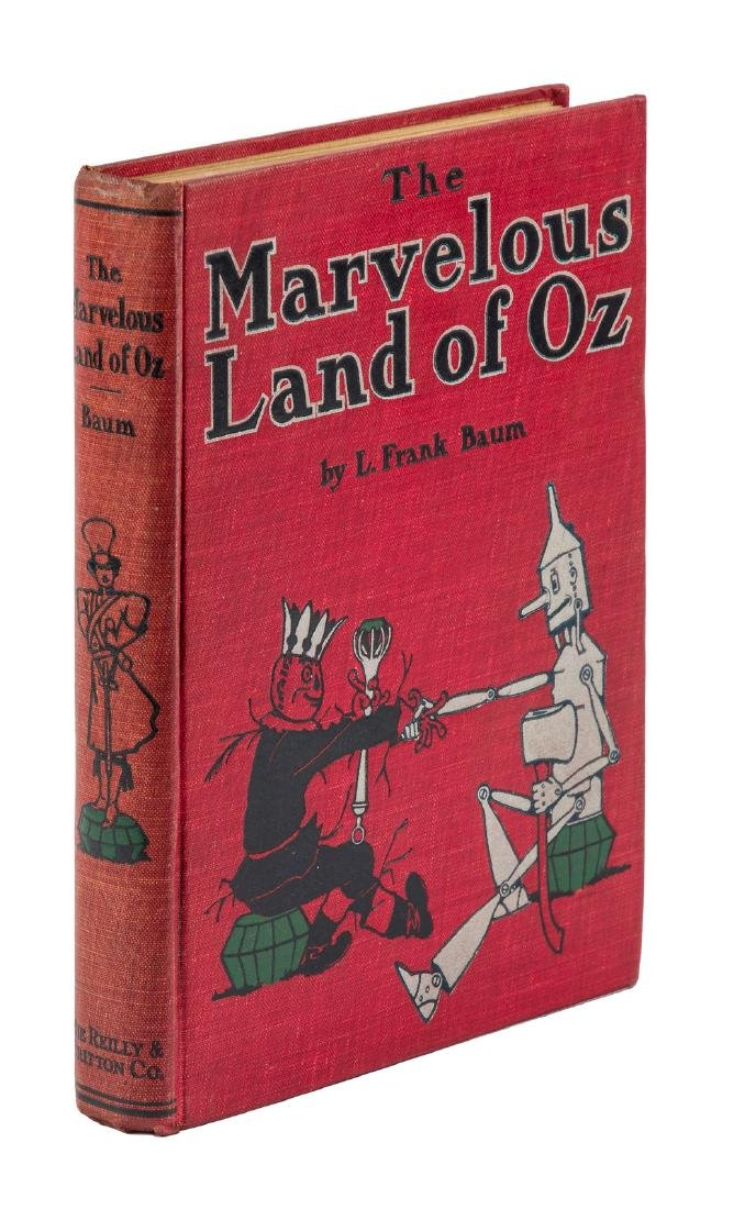 The Marvelous Land of Oz First edition, 2nd state