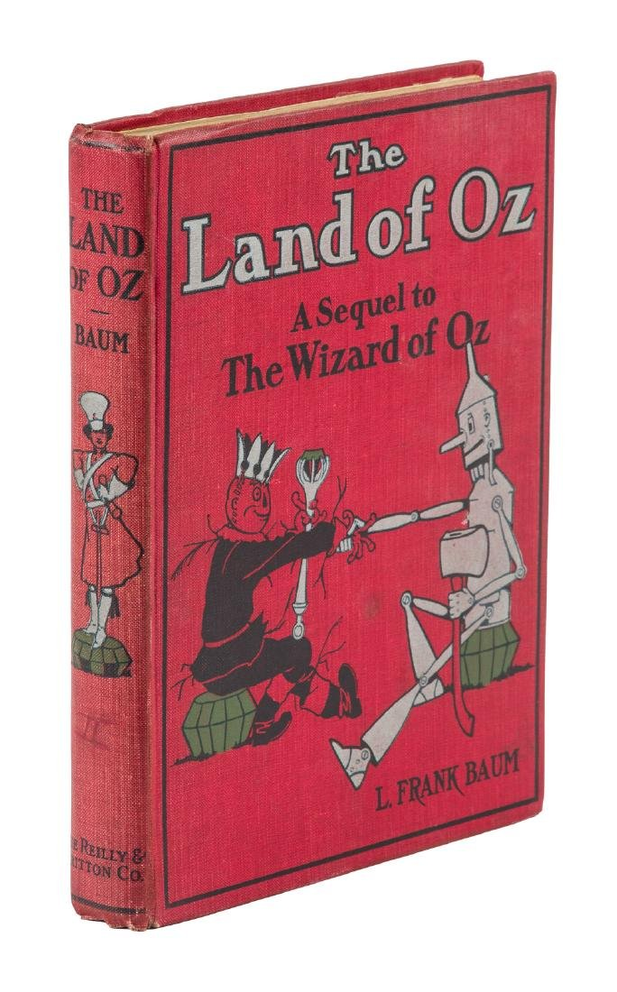 The Marvelous Land of Oz First edition, 2nd printing