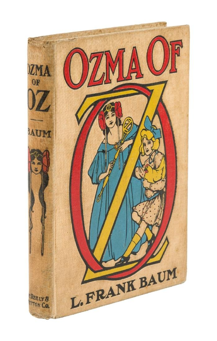 Ozma of Oz First Edition First Printing First Binding