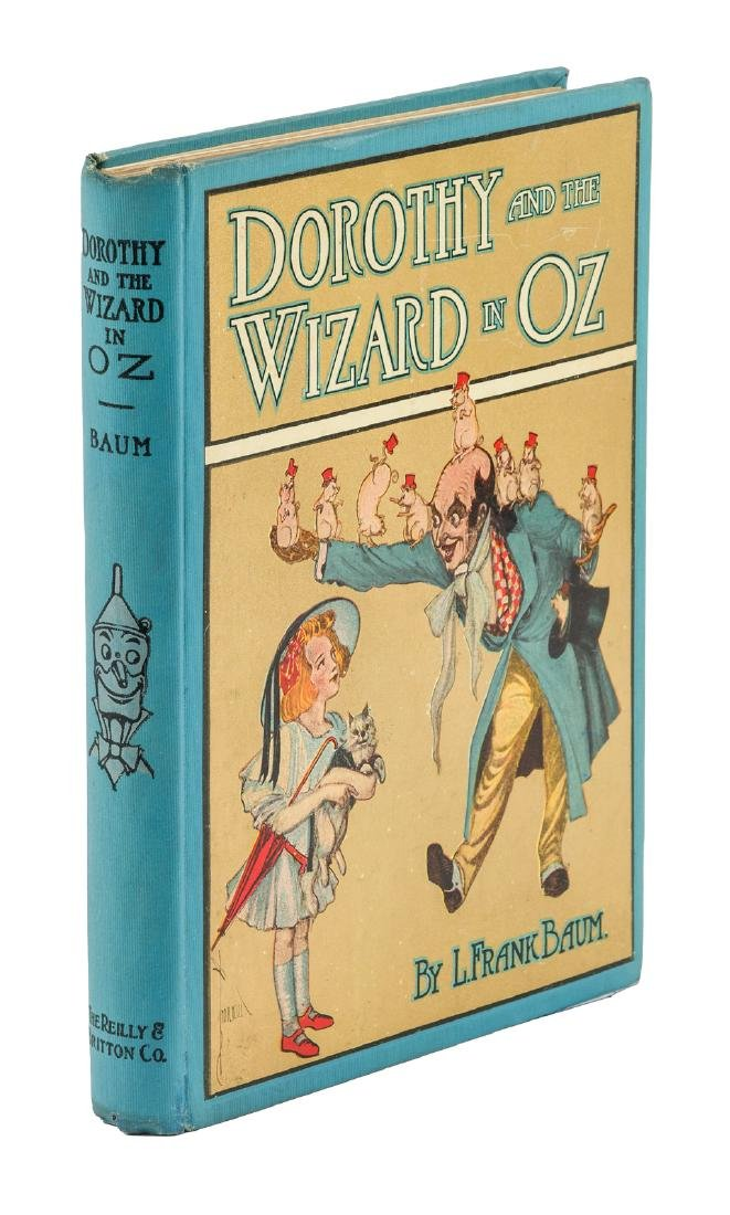 Dorothy and the Wizard in Oz first edition
