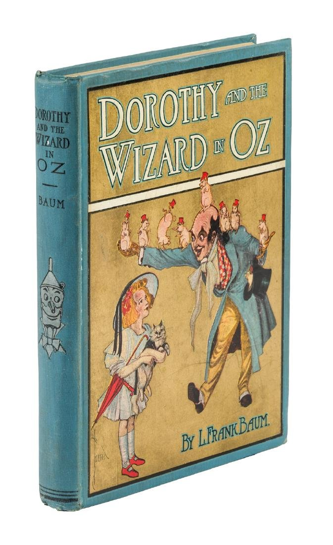 Dorothy and the Wizard in Oz first Canadian edition