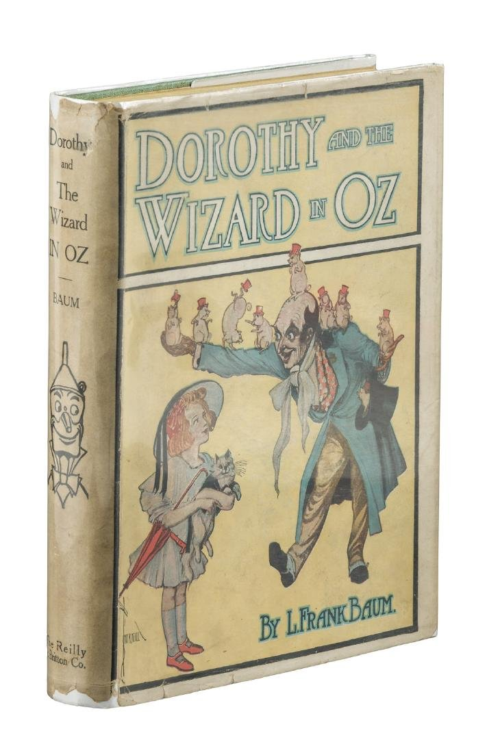 Dorothy and the Wizard in Oz, third printing with
