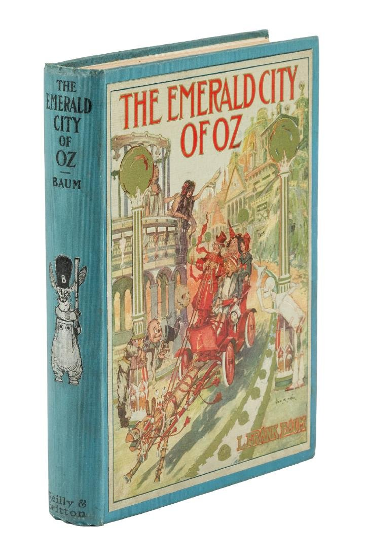 The Emerald City of Oz First Edition