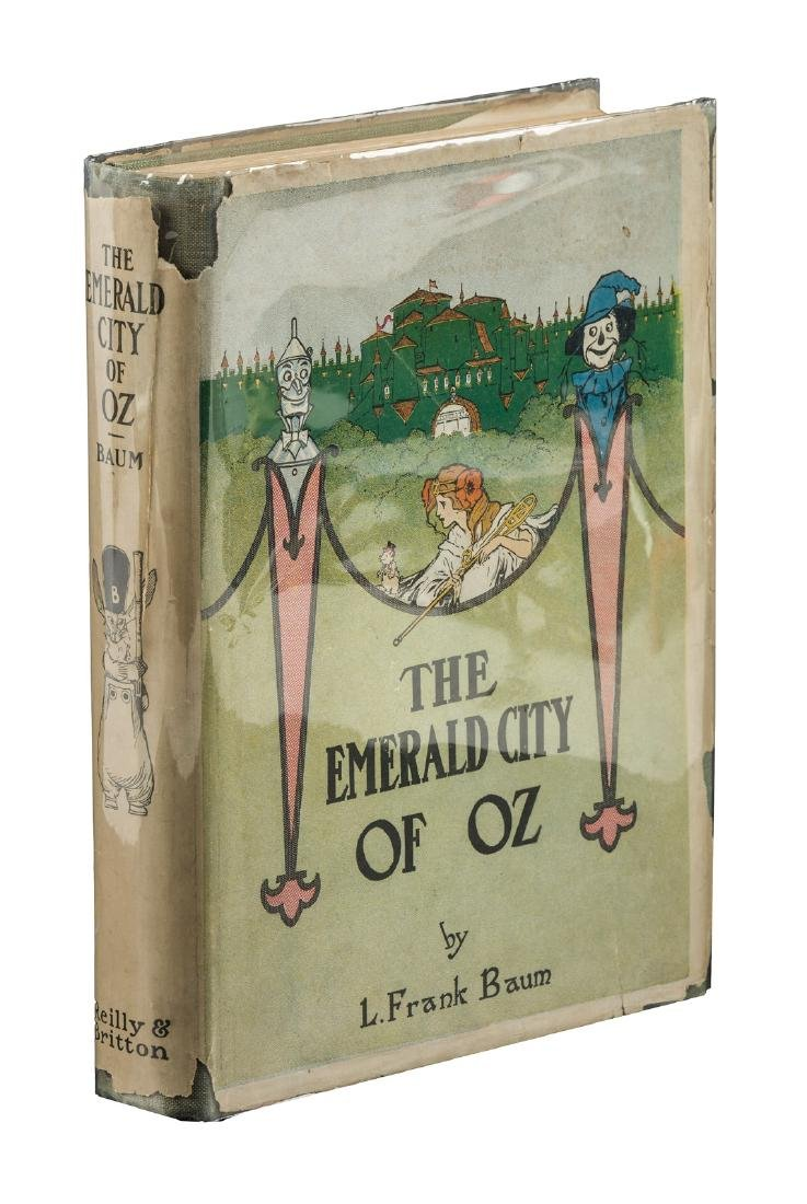 The Emerald City of Oz Fourth printing with jacket.