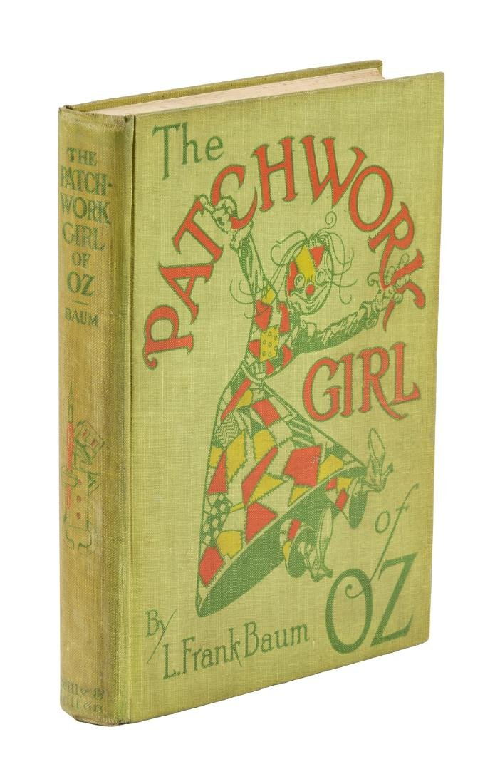 Patchwork Girl of Oz First Edition First State