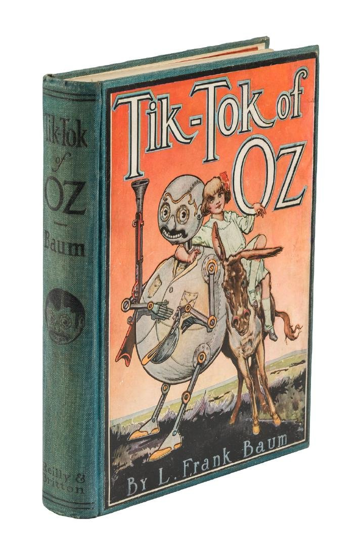 Tik-Tok of Oz First Edition