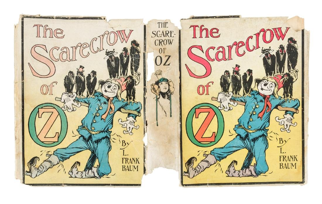 The Scarecrow of Oz in dust jacket - 2