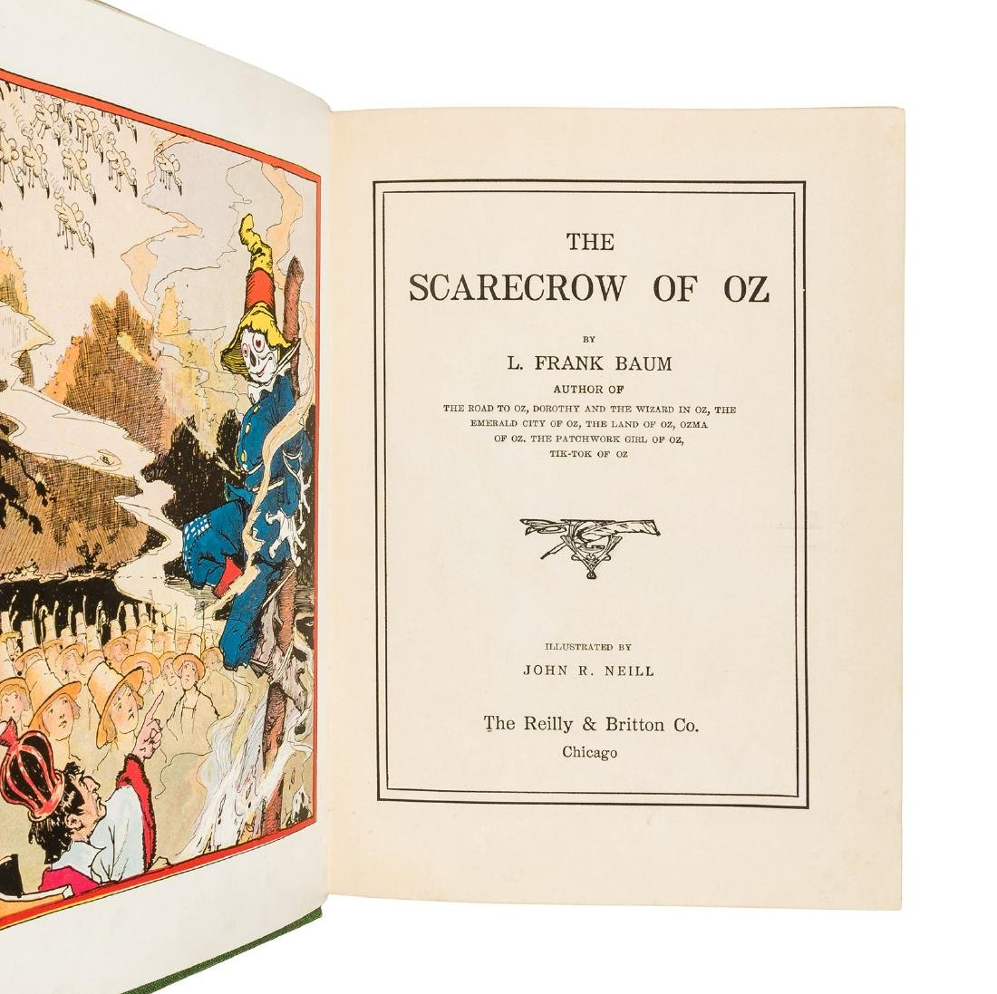 The Scarecrow of Oz in dust jacket - 3