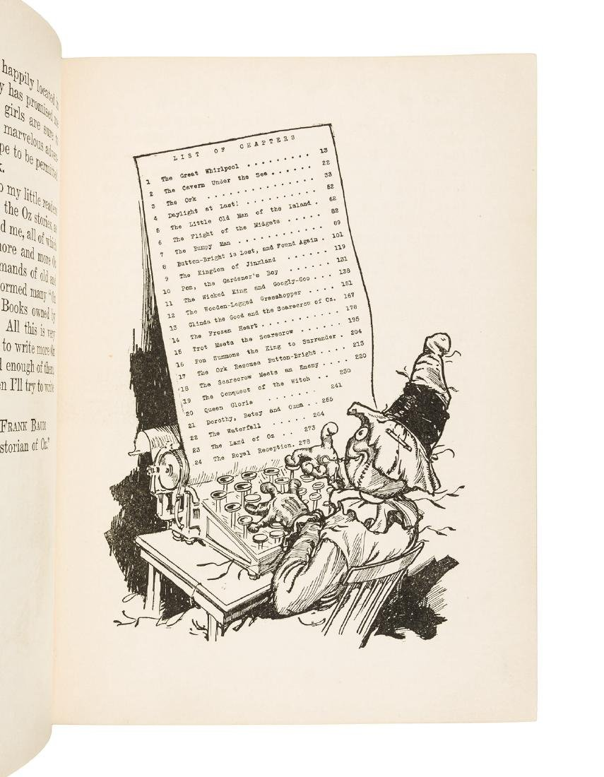 The Scarecrow of Oz in dust jacket - 4