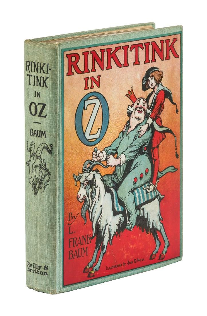 Rinkitink in Oz First Edition First Printing