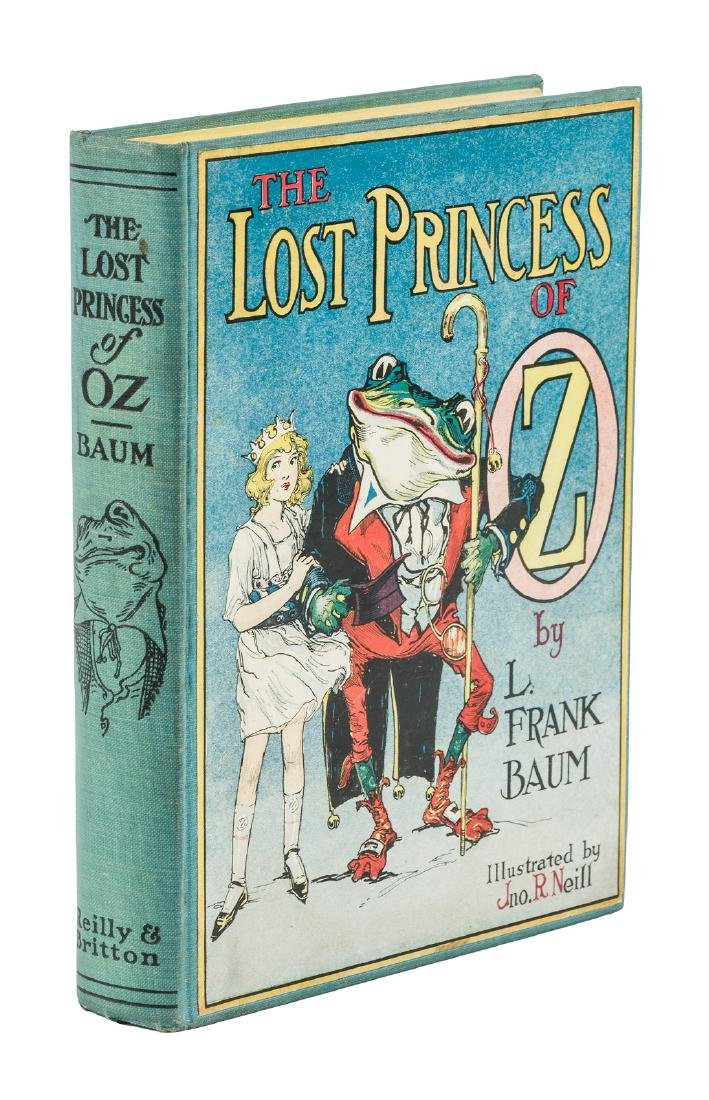 Lost Princess of Oz First Edition