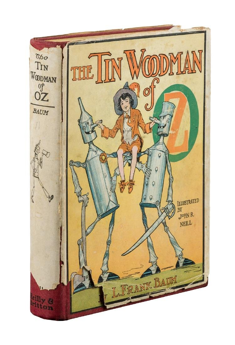 The Tin Woodman of Oz First Edition in dust jacket