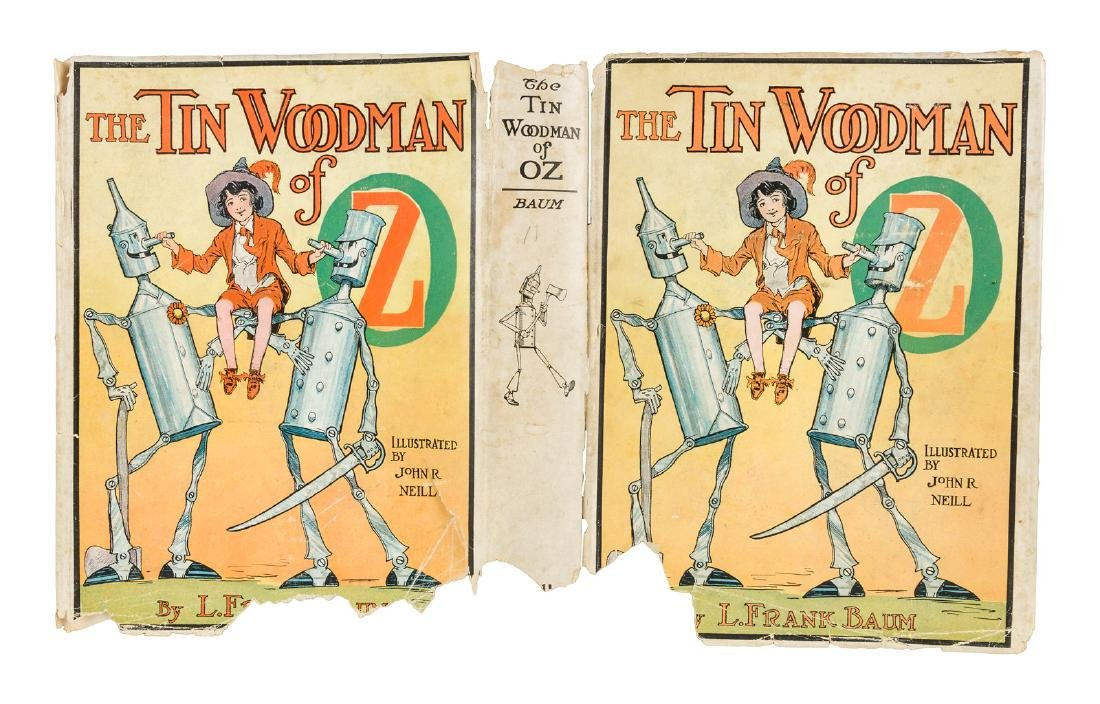 The Tin Woodman of Oz First Edition in dust jacket - 2