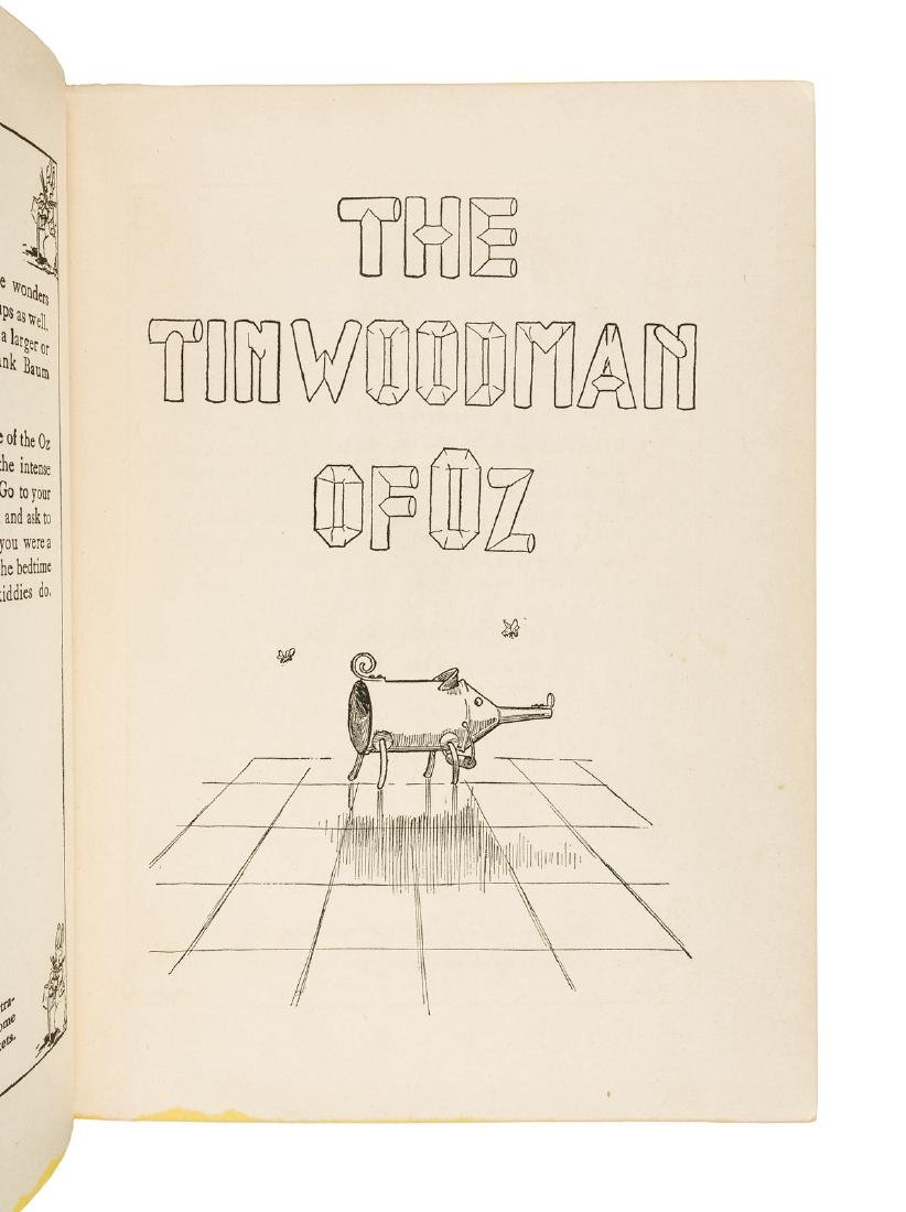 The Tin Woodman of Oz First Edition in dust jacket - 3
