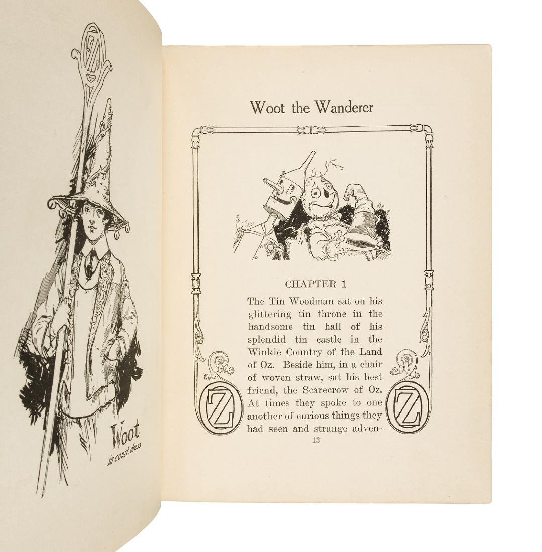 The Tin Woodman of Oz First Edition in dust jacket - 5