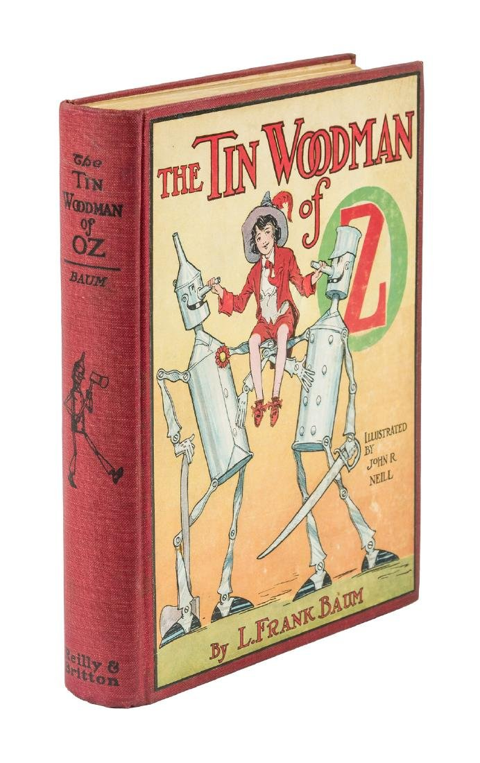 The Tin Woodman of Oz First Edition in dust jacket - 6