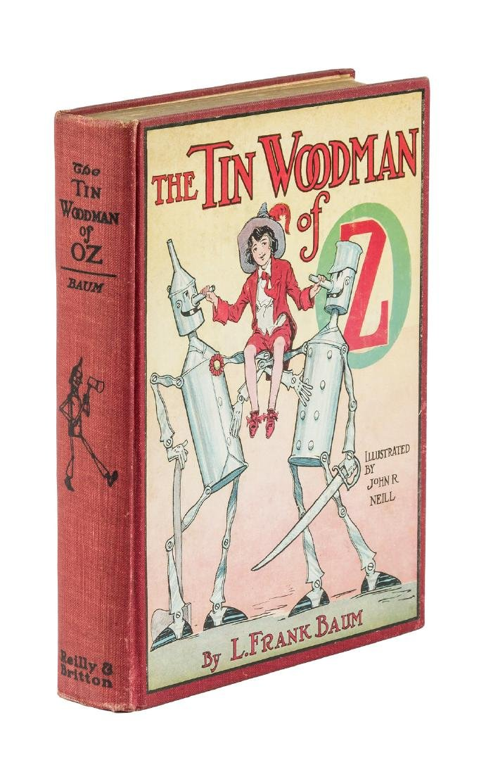 The Tin Woodman of Oz First Edition