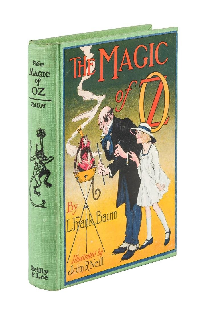 Magic of Oz, 1st Ed, 1st State in dust jacket
