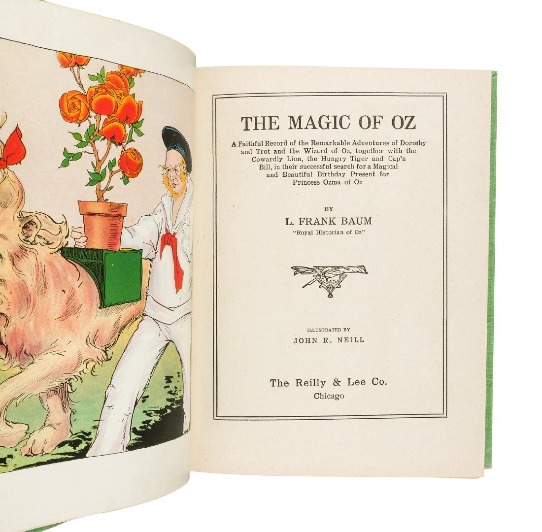 Magic of Oz, 1st Ed, 1st State in dust jacket - 2