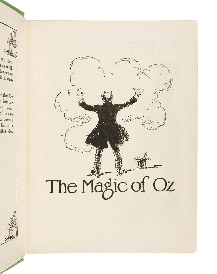 Magic of Oz, 1st Ed, 1st State in dust jacket - 3