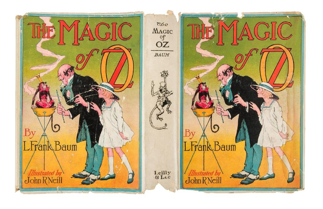 Magic of Oz, 1st Ed, 1st State in dust jacket - 4