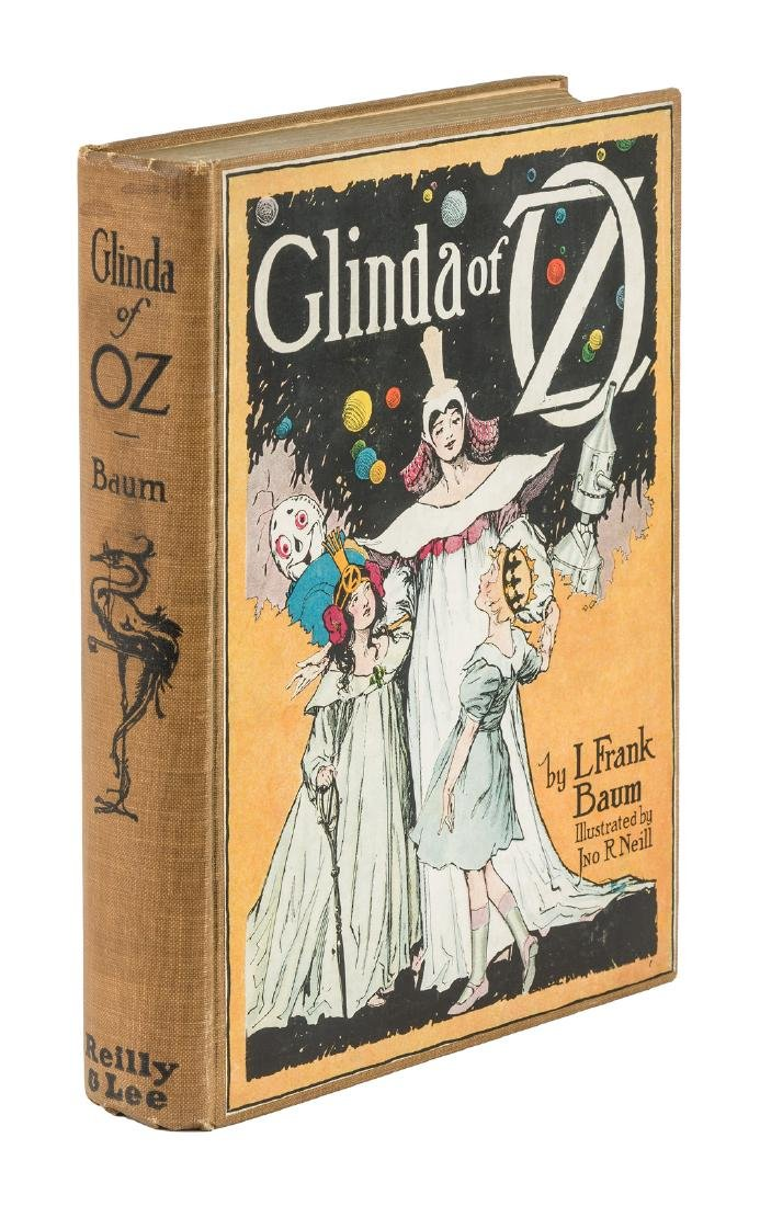 Glinda of Oz First Edition with map
