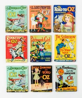 Wonderful Land of Oz Library - complete set