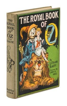 Royal Book of Oz 1st edition, 1st state w/rare dj