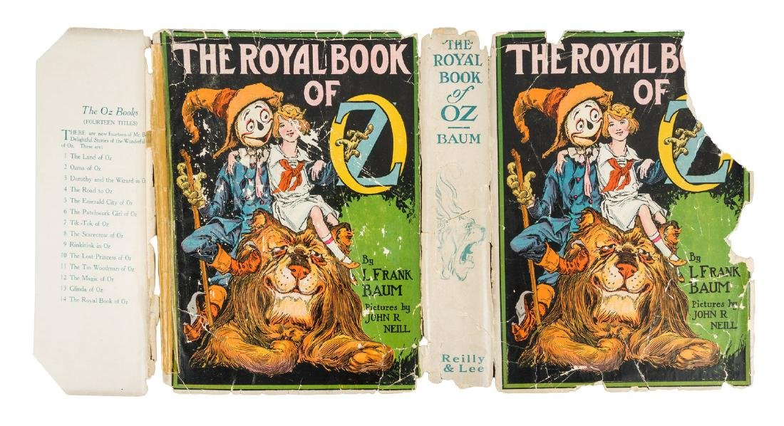 Royal Book of Oz 1st edition, 1st state w/rare dj - 3