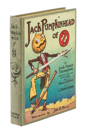 Jack Pumpkinhead of Oz with first state jacket