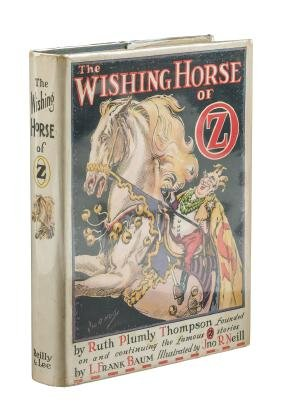 The Wishing Horse of Oz in first state dj